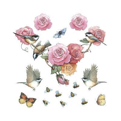 Chickadee--Giclee Print