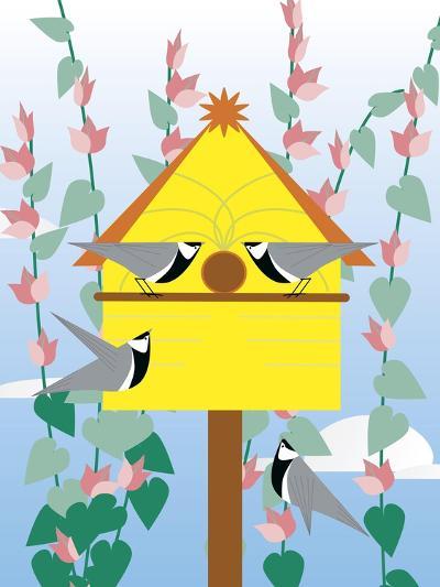 Chickadees 2-Marie Sansone-Giclee Print