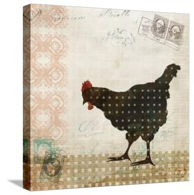 Chicken Dance I-Kay Daichi-Stretched Canvas Print