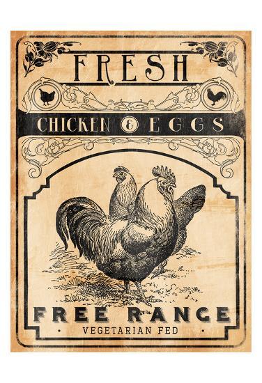 Chicken Eggs-Jace Grey-Art Print