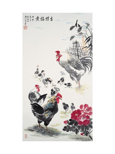 Chicken Family-Guozen Wei-Giclee Print