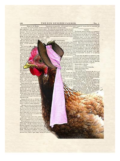 Chicken Lady-Matt Dinniman-Art Print