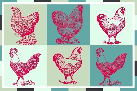 Chicken Pop 3--Giclee Print
