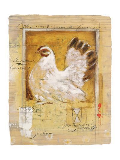 Chicken-Joadoor-Art Print