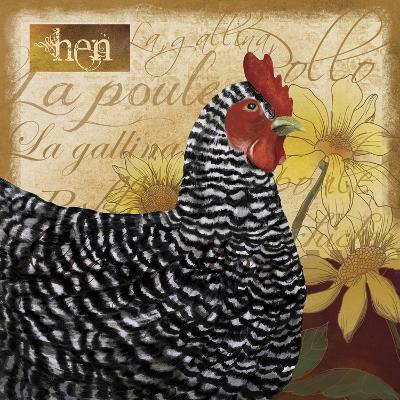 Chicken-Fiona Stokes-Gilbert-Giclee Print