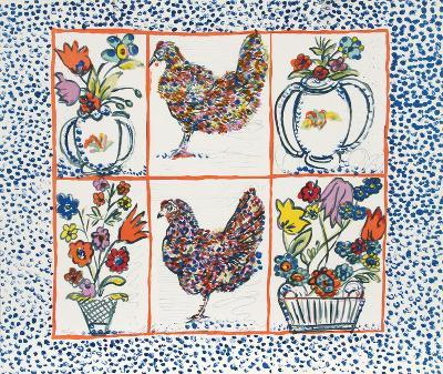 Chickens-Margaret Israel-Limited Edition