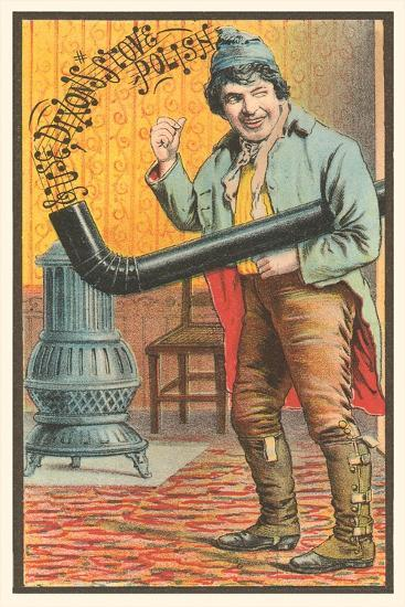 Chico Marx with Stovepipe--Art Print
