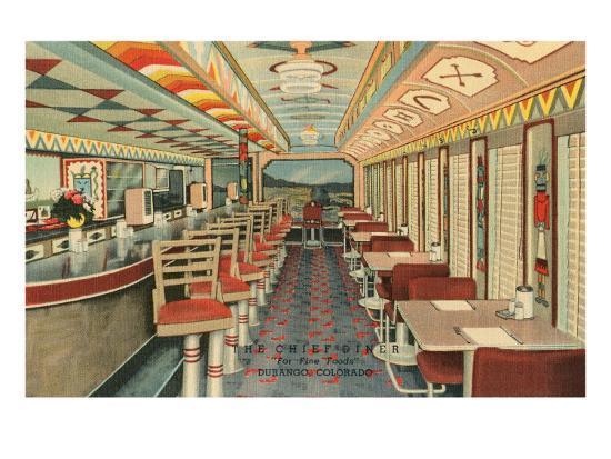 Chief Diner, Durango, Colorado--Art Print