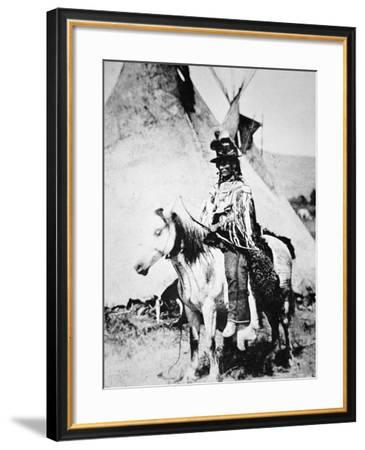 Chief Looking Glass, c.1875--Framed Photographic Print