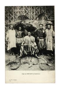 Chief of Dschang, Cameroon, c.1910