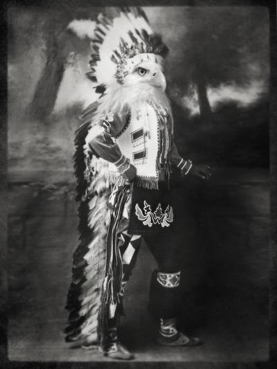 Chief Shikoba Featherbeard-Grand Ole Bestiary -Art Print
