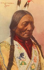 Chief Sitting Bull, Sioux Indian