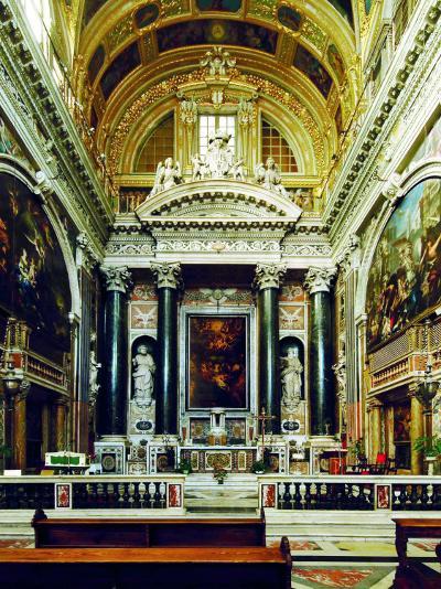 Chiesa Del Gesù, Genoa-Leonardo da Vinci-Photographic Print