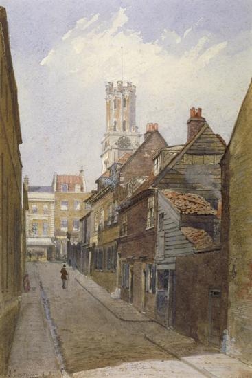 Chigwell Hill, Stepney, London, 1881-John Crowther-Giclee Print