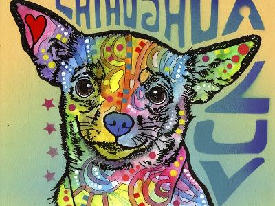 Chihuahua Luv-Dean Russo-Giclee Print