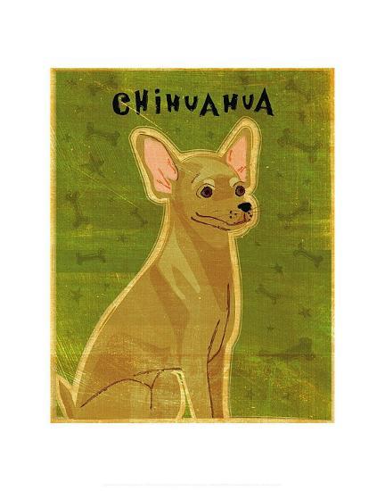 Chihuahua (tan)-John Golden-Art Print