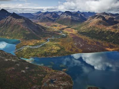 Chikuminuk Lake Reflects the Wilderness of Wood-Tikchik State Park-Michael Melford-Photographic Print