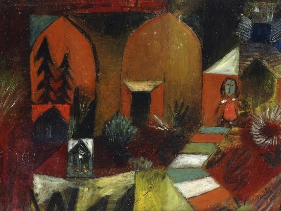 Child as a Hermit-Paul Klee-Premium Giclee Print