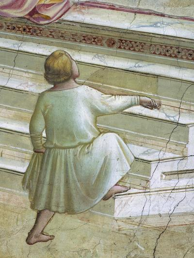 Child in Front of Stairs--Giclee Print