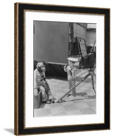 Child Photographer--Framed Photo