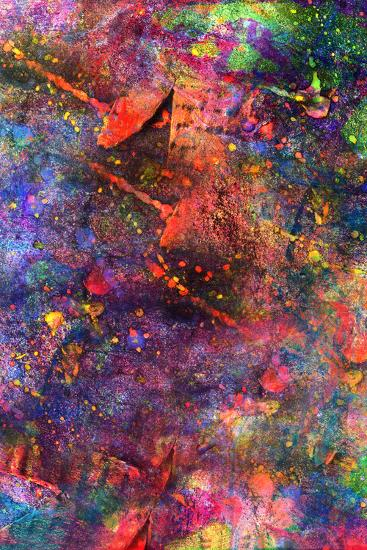 Child's Abstract Art Painting-Alexey Kuznetsov-Art Print