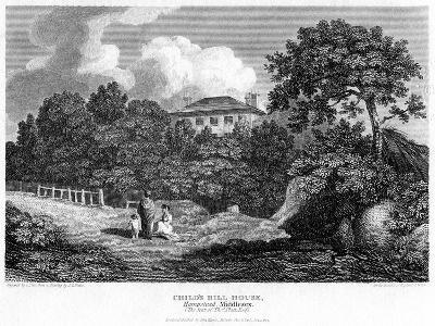 Child's Hill House, Hampstead, London, 1813-C Pote-Giclee Print