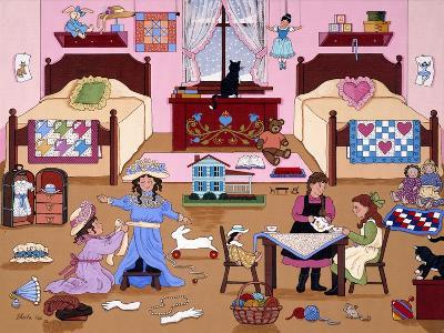 Child's Play for Girls-Sheila Lee-Giclee Print