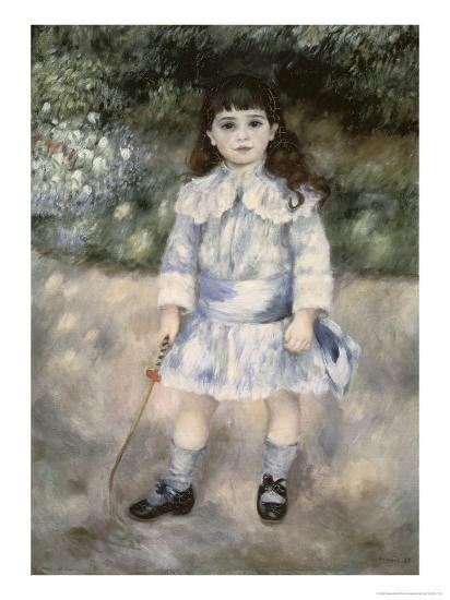 Child with a Whip-Pierre-Auguste Renoir-Giclee Print