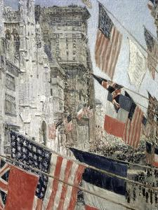Allies Day, May 1917 by Childe Hassam