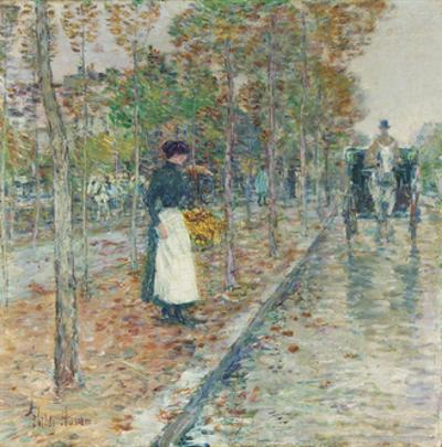 Autumn Boulevard, Paris