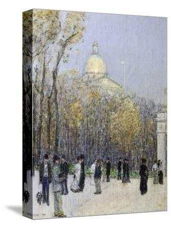 Boston Commons, c.1901 by Childe Hassam
