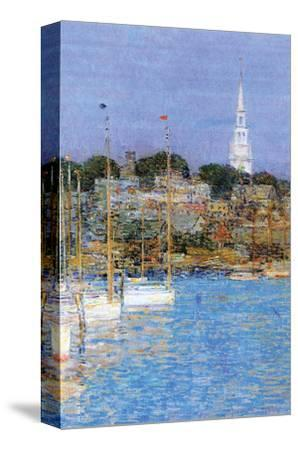 Cat Boats, Newport by Childe Hassam