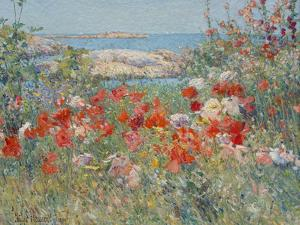 Celia Thaxter's Garden, Isles of Shoals, Maine, 1890 by Childe Hassam