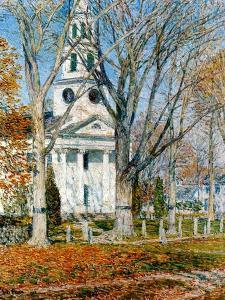 Church at Old Lyme, 1903 by Childe Hassam