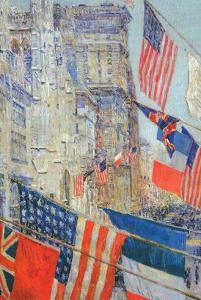Day of Allied Victory, 1917 by Childe Hassam