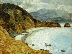 Ecola Beach, Oregon by Childe Hassam