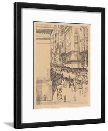 Fifth Avenue, Noon, 1916