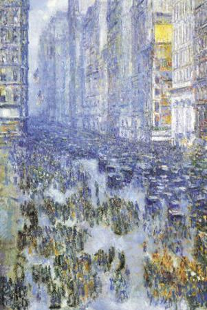 Fifth Avenue by Childe Hassam