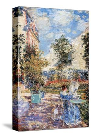 In A French Garden. In A French GardenChilde Hassam