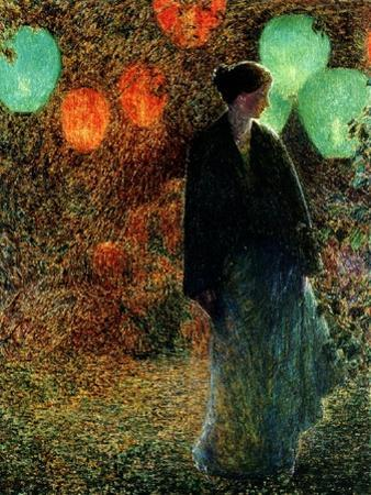 July Night, 1898 by Childe Hassam