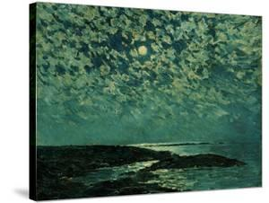 Moonlight, Isle of Shoals, 1892 by Childe Hassam