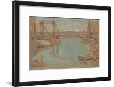 North River Dock, New York, 1901