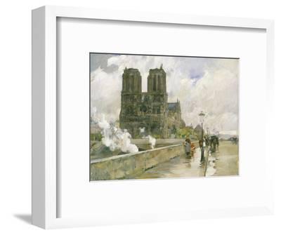 Notre Dame Cathedral, Paris, 1888