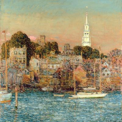 October Sundown, Newport, 1901