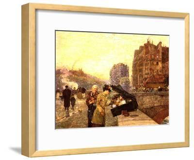 Paris, the Quai St Michel, C.1888