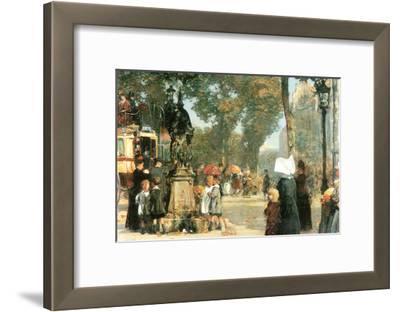 Parisian Street Scene [1]