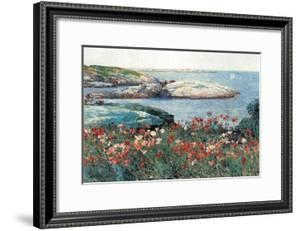 Poppies, Isle of Shoals by Childe Hassam