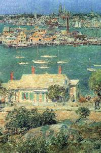 Port of Gloucester by Childe Hassam