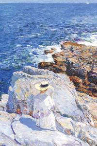 Southern Rock Riffs, Appledore by Childe Hassam