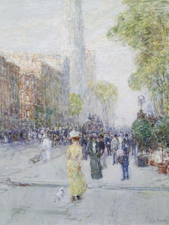 Springtime by Childe Hassam